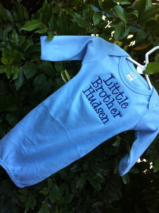 Little Brother Infant Gown-