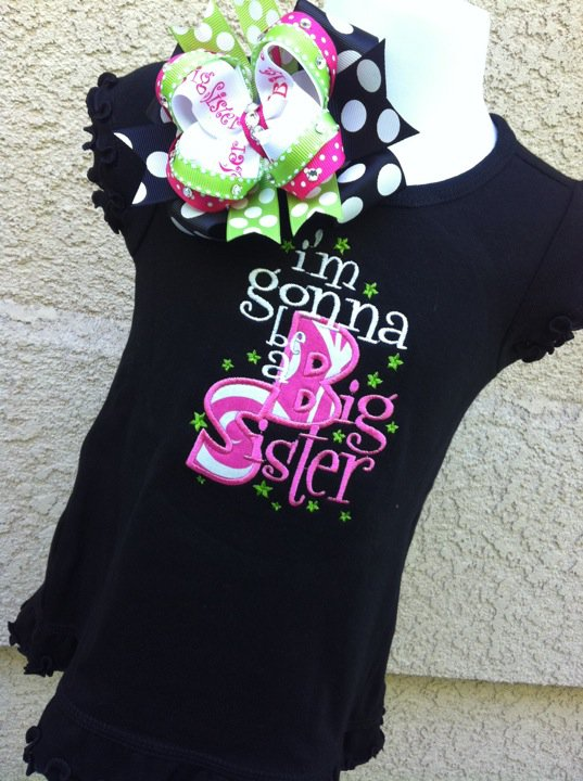 Big Sister Dress-Big Sister