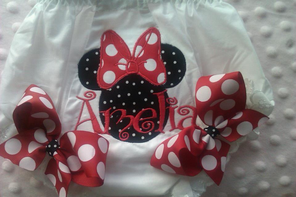 Minnie Mouse Bloomers-Minnie Mouse Bloomers