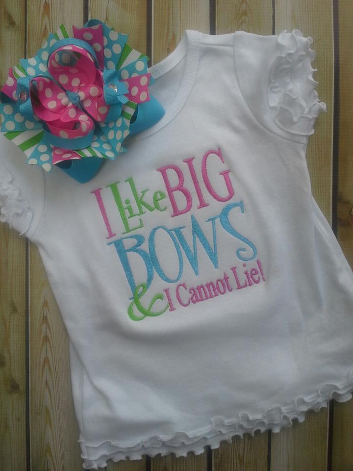 Big Bows Tee-I love big bows, tee