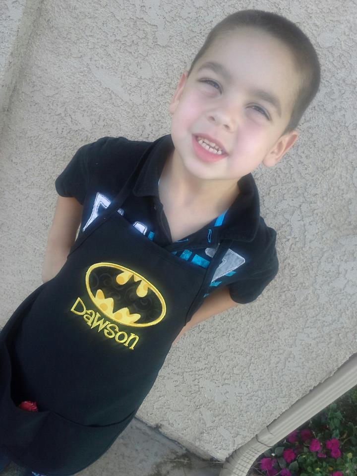 Batman Toddler Apron-
