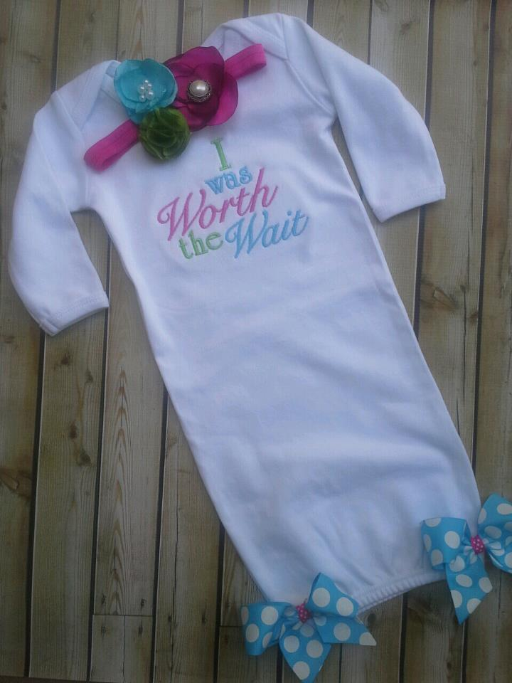 Worth the Wait Gown-