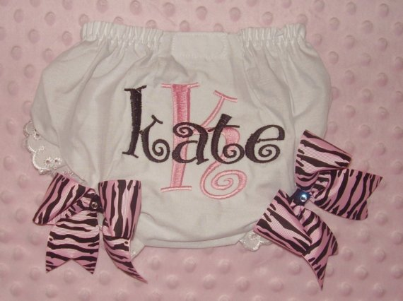 Personalized Diaper Covers for Baby Girls-Personalized bloomers