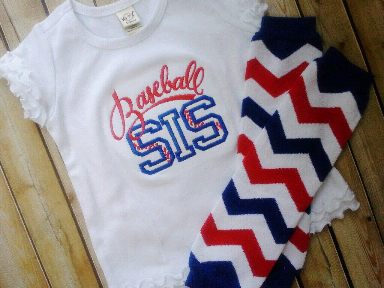 Baseball Sis Tee-