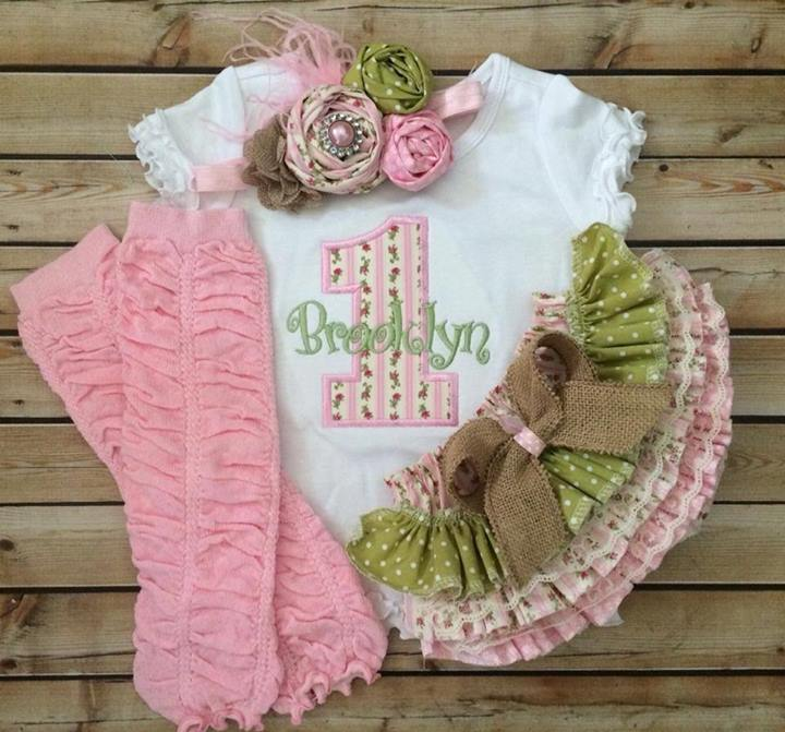 Shabby Chic Birthday Set-