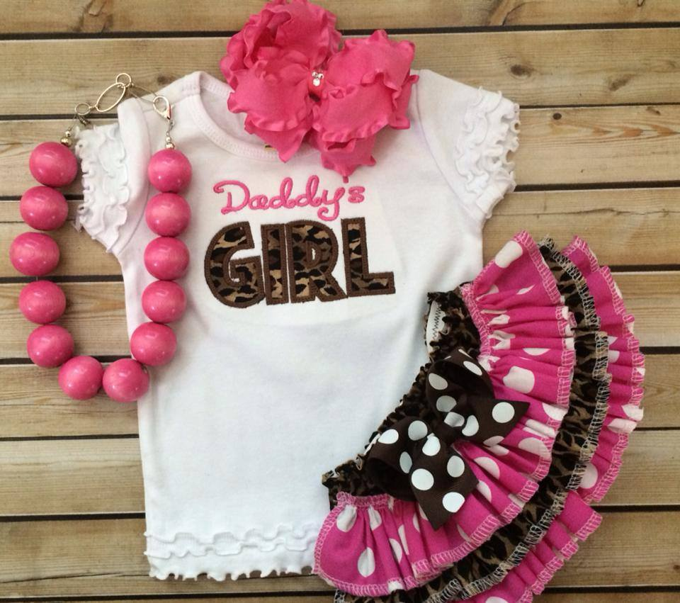 Daddys Girl Ruffled Leopard Set-Daddys Girl