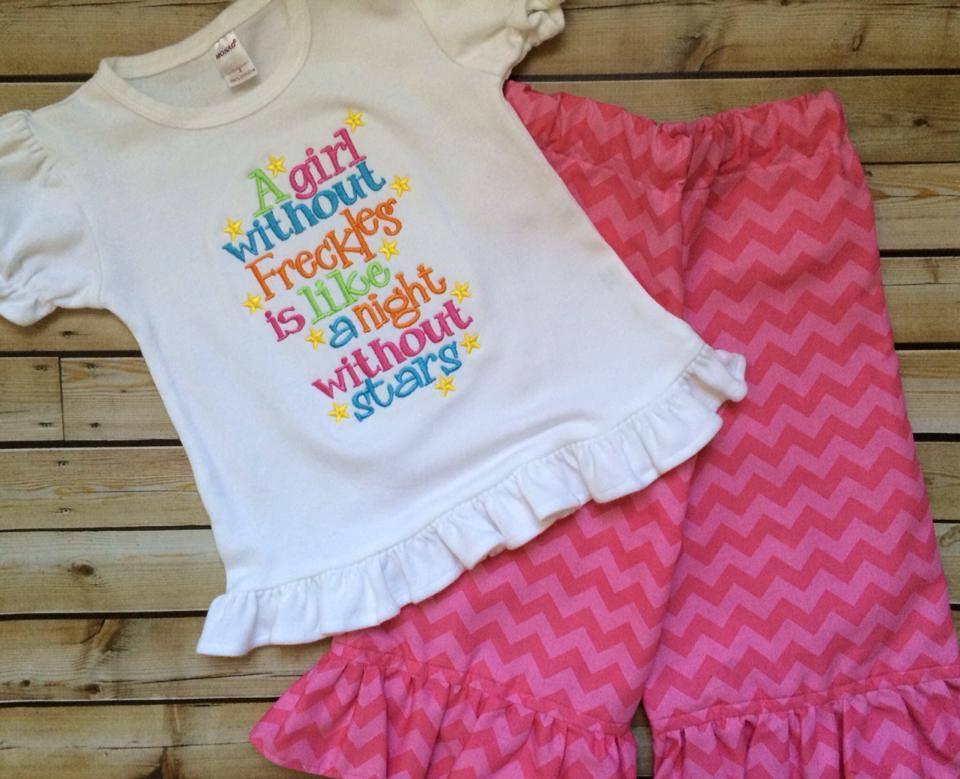 Freckles Pants Set-