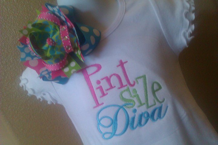 Pint Size Diva Dress-