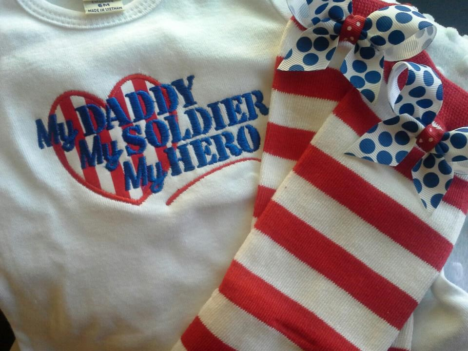My Daddy My Solider My Hero Dress-