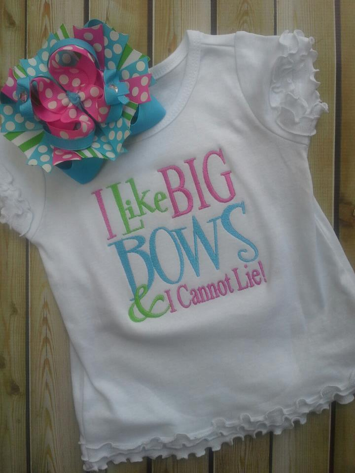 Big Bows Tee-I love big bows, tee