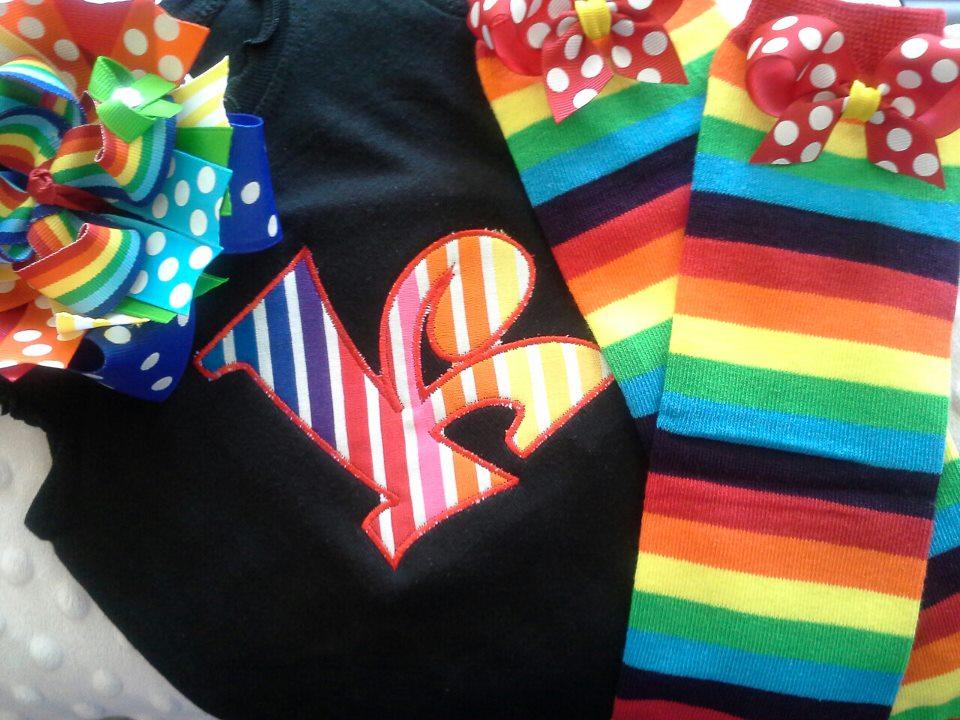 Rainbow Letter Set-