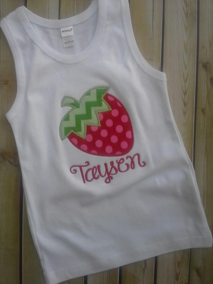 Strawberry Tank Top-