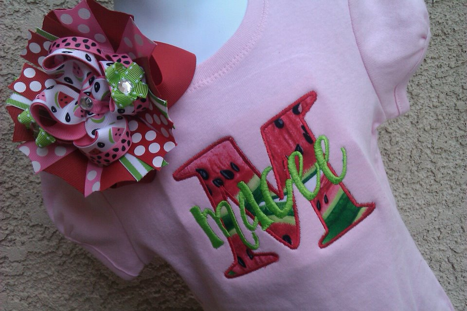 Watermelon Name Tee-