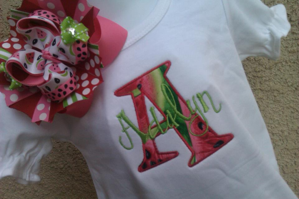 Watermelon Romper-