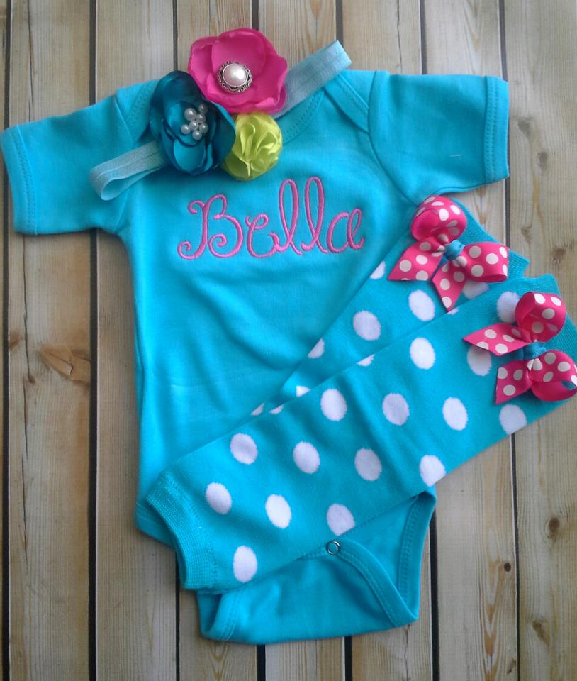 Teal Onesie Set-