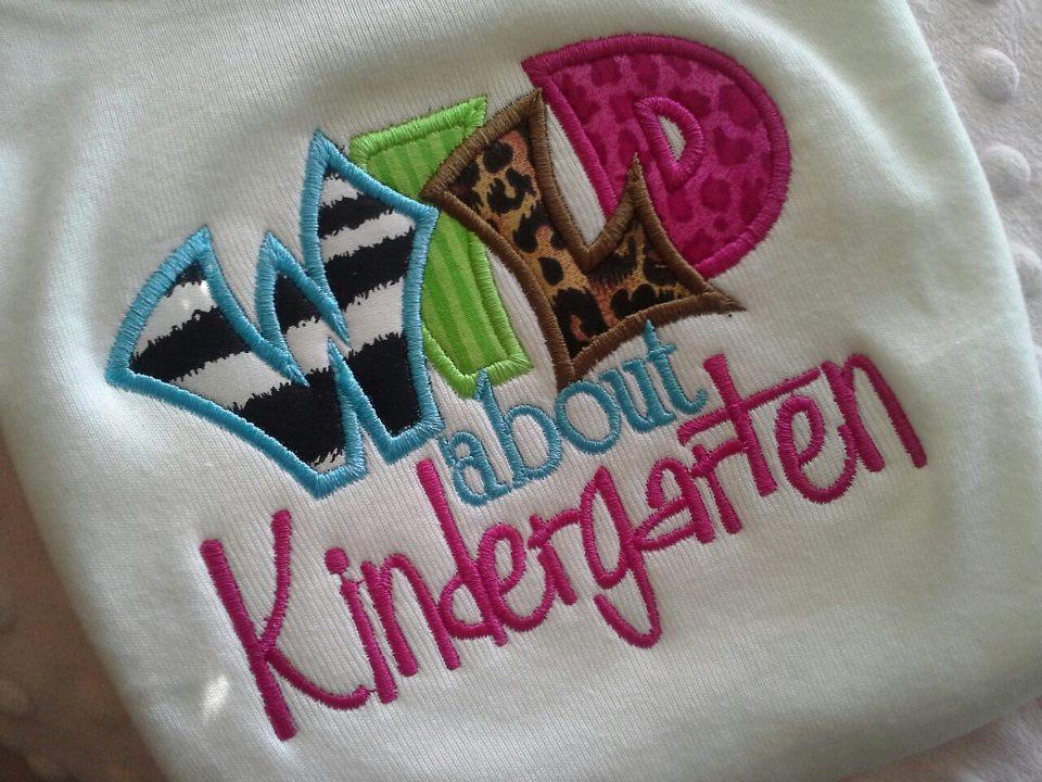 Wild about Kindergarten Tee-