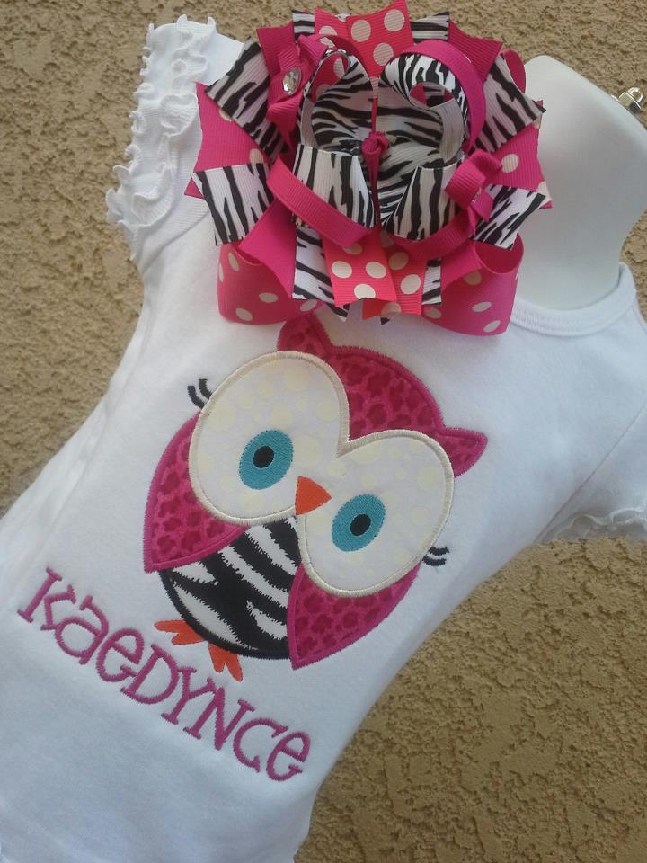 Funky Owl Tee-