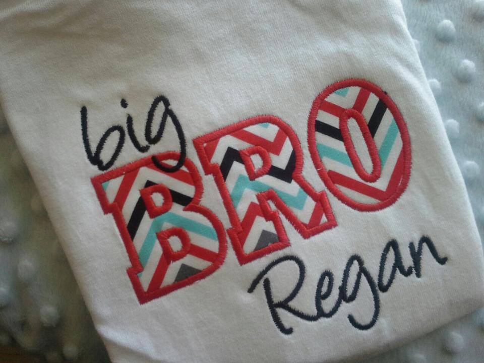 NEW Big Brother Name Tee-