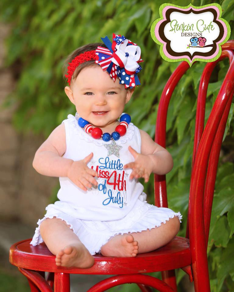 Lil Miss Fourth of July Dress-