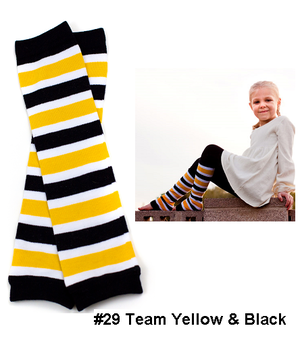 Bumble Bee Bow Legwarmers-