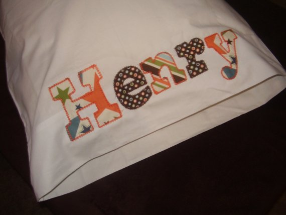 Personalized Boy Pillowcase-pillowcase, personalized, name