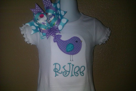 Baby Bird Persoanlized Dress-Dress, bird, personalized